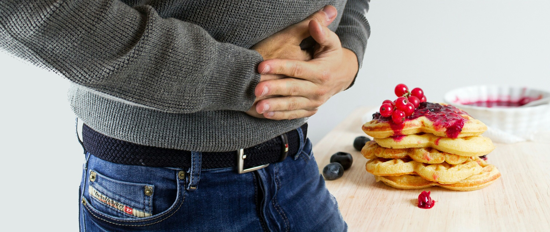 poor posture effects on the stomach pain