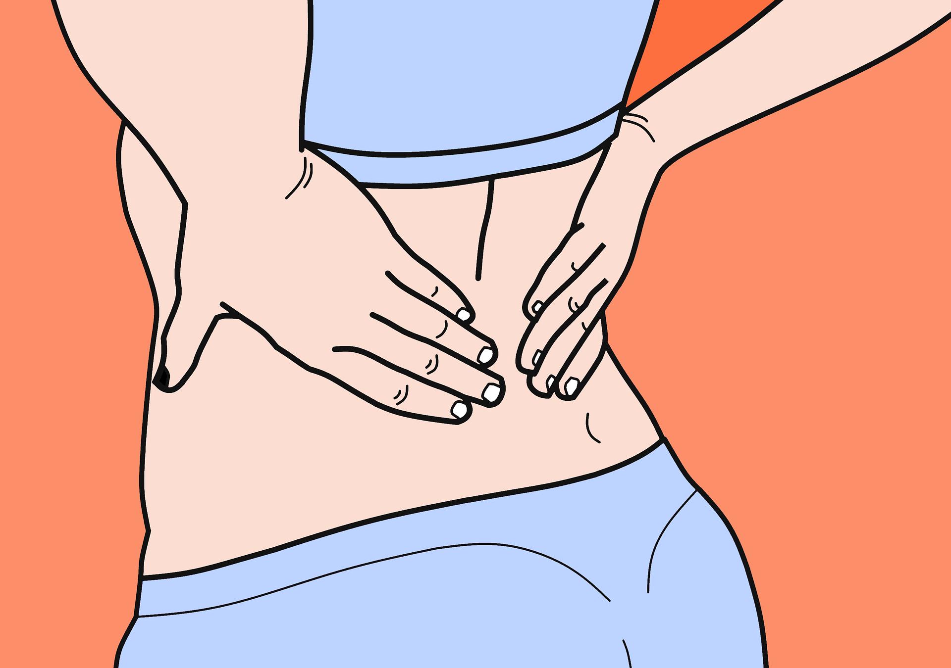poor posture lower back pain